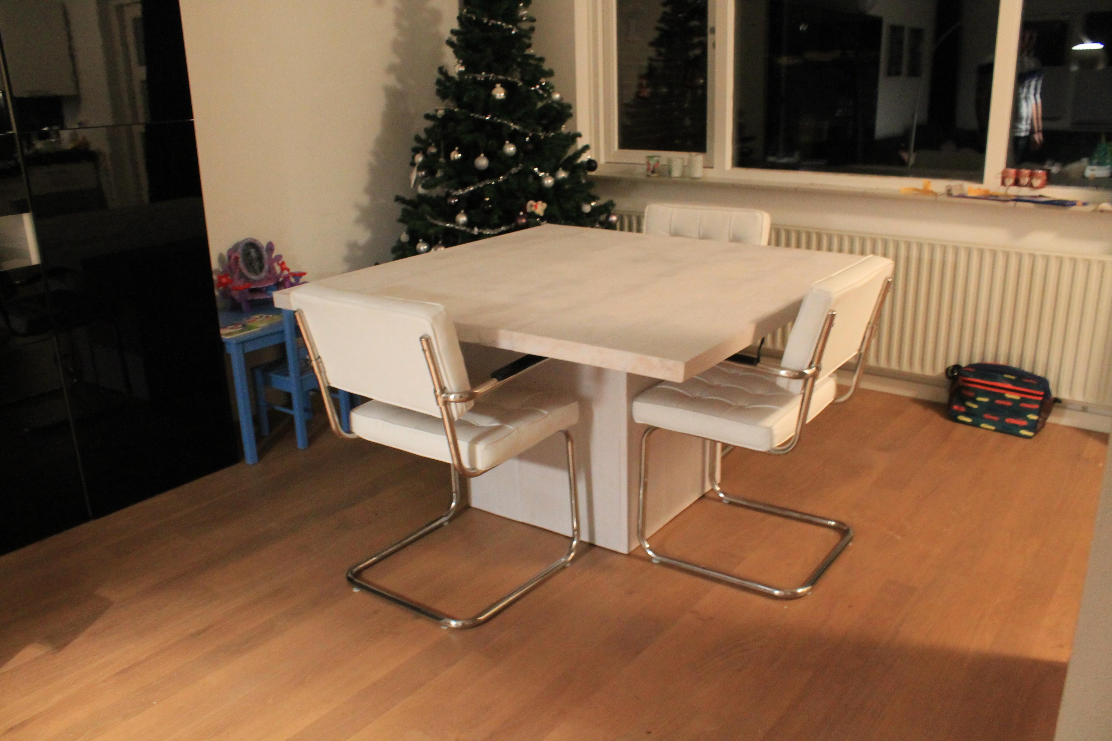 Eettafel Wit Vierkant.Eettafel Vierkant